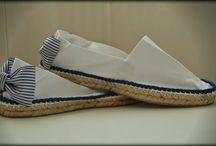 calzado / calzado pintado a mano