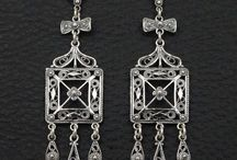 Bohemian Earrings 925 Sterling Silver