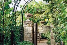Arbours / Arbour and pergola ideas