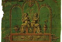Antique toile
