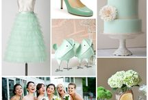 Wedding Theme: Mint (2013 colour of the year) / Wedding mood board - 2013 Colour, Mint