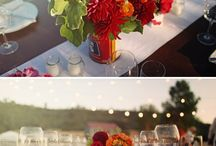 Farm Wedding Centerpiece Ideas / Wouldn't these be cute.