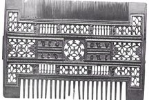Medieval Combs / principally the (French) boxwood combs of the decades around 1500, but I dare say, sooner or later, I'll throw in a few earlier ivory jobs!