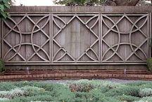 Fence Design, Veggie Garden