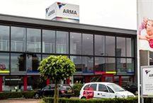 Arma Keukens en Sanitair in Nunspeet / Arma is één van de vestigingen van de DB KeukenGroep en is gevestigd in Nunspeet.