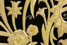 bordados en oro