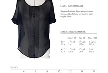 sew blouse shirt / by Donna Myers