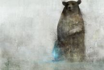 bruno / Artwork and illustrations of beautiful bears