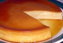 Recipes - puddings, flan