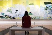 Joan mitchell / Joan Mitchell (February 12, 1925 – October 30, 1992) was an American expressionist painter and printmaker. She was a member of the American abstract expressionist movement