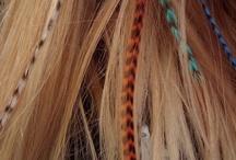Feathers in hair! / Hair