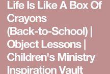 Crayons life is like