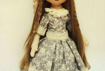 Текстильные куклы МК