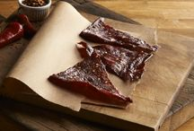 Beef Jerky / Our Texas made, all-natural 44 Farms beef jerky is prepared from the very same beef that we provide to many of the finest restaurants in the country and slow smoked in a real old-fashioned smokehouse. Using minimal ingredients, we let the meat speak for itself.