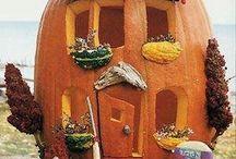 *Autumn Pumpkins / Gourds / by Linda Diane Martinez-Fenley