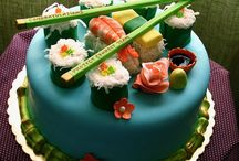 Sushi cake / by Fion Say