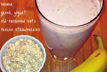 Healthy drinks / Smoothies