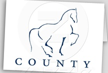 County Saddlery Greeting Cards, Post Cards & Stamps