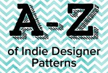Indie Designer Month: A-Z of Indie Patterns / Join us this May for the ultimate A-Z of Spring patterns made by our incredible independent designers, which are bound to WOW you! Come back every day for new inspiration!