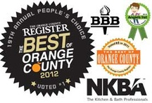 Best of orange county Kitchen & Bath awards