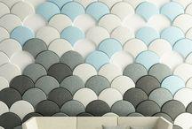 Pattern / Interior pattern, oregami, walldeco