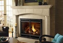 Fireplace Mantels / Fireplace mantels and fireplace shelves