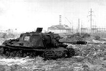 ISU-152 heavy self-propelled gun  / Ciężkie działo samobieżne ISU-152