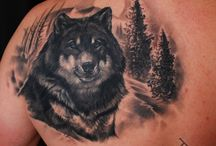 Animal TATTOO / There are many animals who have deeper meaning in people lives.. so people make tattoos with them to save memories about loved pets or simply take some good character signs from wild animals.. there are so many reasons why people make animal tattoos..