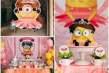 Alaina's minion party