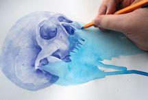 skulls / by Nadine Bakker
