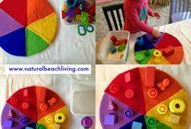 Обучение цвету