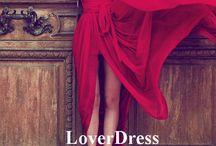 MoodBoard Red Dress