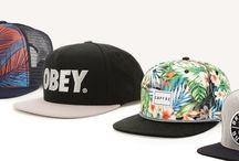 hip hop fashion /  funky cap collection