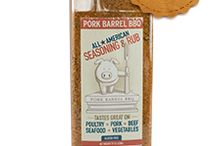 Pork Barrel BBQ Products / Pins of the Pork Barrel BBQ Line of National Award Winning Products!