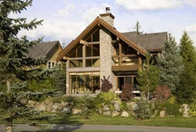 Longstone Chalet / This impressive Whistler vacation home offers discerning guests warmth and elegance. Longstone Chalet's cozy wood accents, beautiful use of natural stone and exposed log beams capture the spirit of a luxury Whistler vacation home.