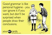 Language Humor / Sometimes language is a laughing matter