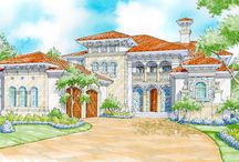 On the Drawing Board - The Sater Design Collection / The Sater Design Collection is constantly creating new home plans. Some of these plans take a long time to develop. During that time we will be posting the plans here. This is an opportunity for you to see what we have in the works. Plans that have been purchased are the ones that get completed first.