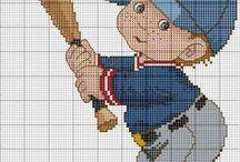 sport cross stitch