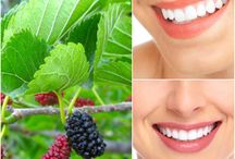 #TeethWhitening #Natural / How to whiten your teeth using gifts of nature