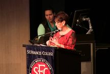 lst Speaking engagemnt at St. Francis College