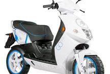 Scooter électrique / Une sélection de scooters électriques.