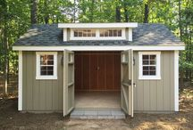 Locked Up / Garden Shed and Barn Design