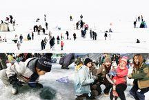 เทศกาลตกปลาน้ำแข็ง ICE FESTIVAL