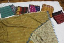 Pashminas and Scarves / Handcrafted with passion and love. Made by women from a small town in India.