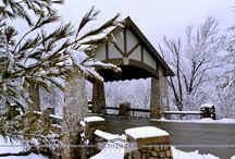 Winter at StoneBridge Resort / Southwest Missouri has beautiful winters.  Here are some photos of StoneBridge Resort in Branson during the winter season.