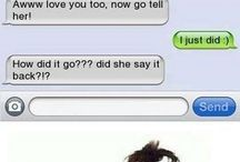 Funny and clueless texts