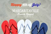 Happy 4th of July! / Celebrate the red, white and blue