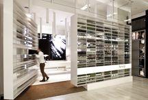 Perfume and cosmetics store design