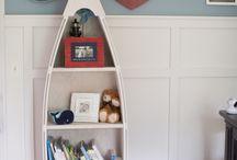 Freddie's Bedroom / Nautical Theme