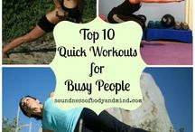 •• Fitness •• / Healthy At-Home Fitness Routines and Work Outs on a budget.